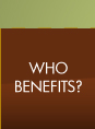 Who Benefits?